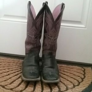 Ariat Western Square Toe Boots